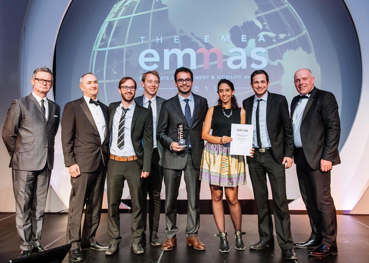FEM EMEA EMMAs - Benivo Team Photo