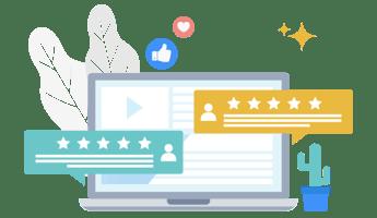 Social Insights - Star Ratings & Reviews