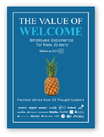 The value of welcome book cover 242px