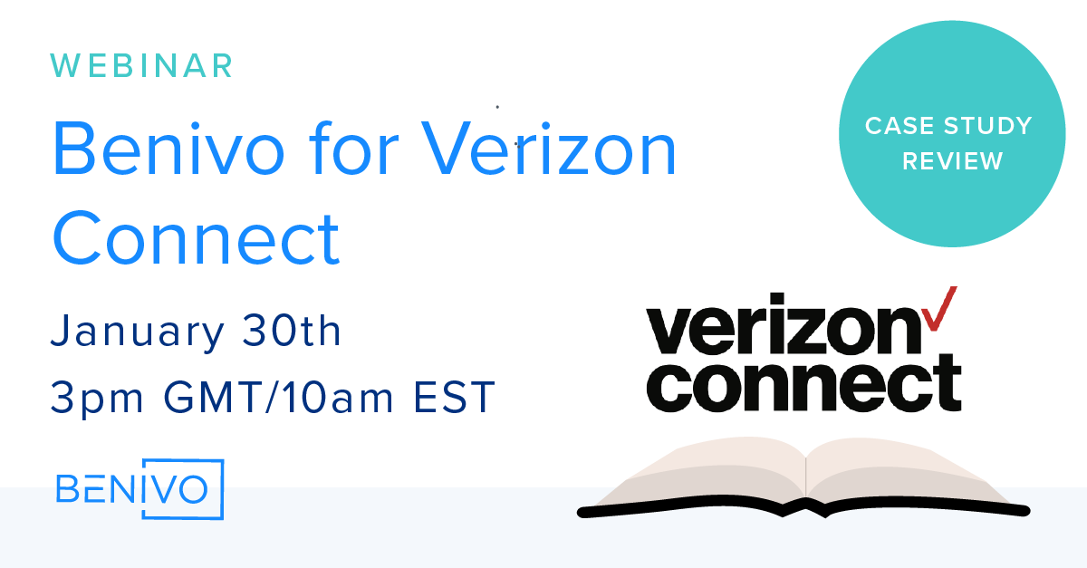 Webinar Recording: Client Case Study - Benivo for Verizon Connect