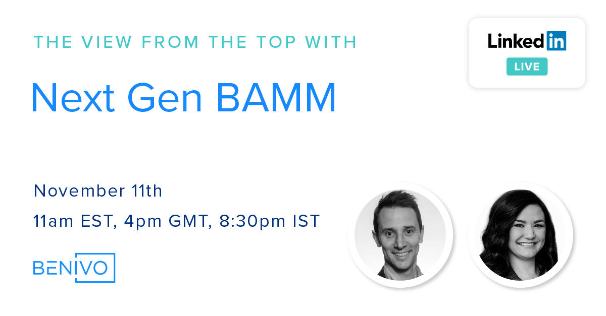 Show Notes & Recording: The View From The Top Live with Next Gen BAMM