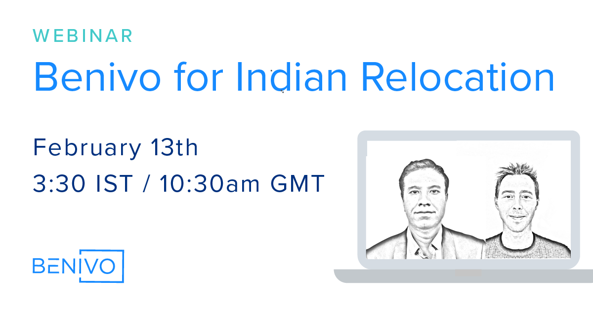 Webinar Recording: Benivo for Indian Global Relocation